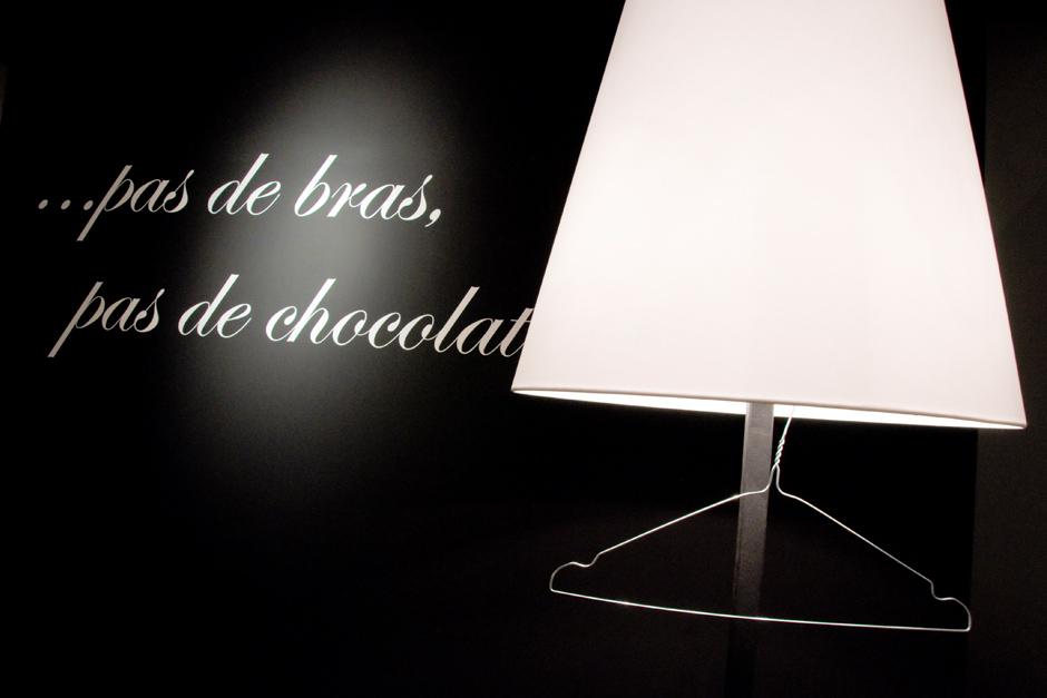 …  pas de bras, pas de chocolat